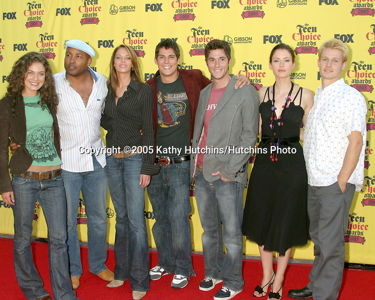 Reunion Cast.Teen Choice Awards.Gibson Ampitheather.Universal City, CA.August  14, 2005.©2005 Kathy Hutchins / Hutchins Photo