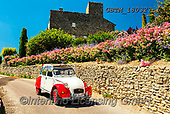 Tom Mackie, LANDSCAPES, LANDSCHAFTEN, PAISAJES, photos,+Citroen 2CV, Europa, Europe, European, France, Provence, Tom Mackie, car, cars, classic car, french, horizontal, horizontals,+red, white,Citroen 2CV, Europa, Europe, European, France, Provence, Tom Mackie, car, cars, classic car, french, horizontal,+horizontals, red, white++,GBTM180327-1,#l#, EVERYDAY