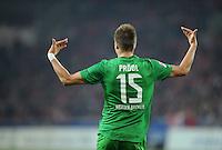 FUSSBALL   1. BUNDESLIGA  SAISON 2011/2012   11. Spieltag   29.10.2011 1.FSV Mainz 05 - SV Werder Bremen JUBEL Werder Bremen;  Torschuetze zum 1-3 Sebastian Proedl