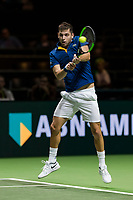 Rotterdam, The Netherlands, Ahoy, Tennis,<br /> ABNAMRO World Tennis Tournament, 13 Februari, 2018, Filip Krajinovic (SER)<br /> Photo: www.tennisimages.com