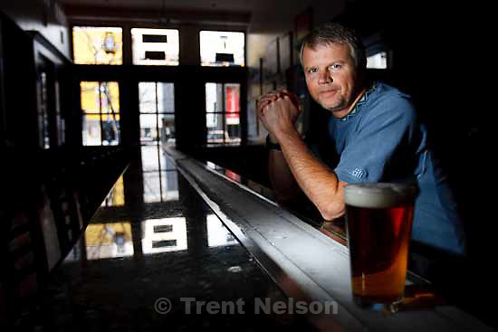 Del Vance is the owner of The Beerhive Pub in Salt Lake City, Tuesday, December 8 2009.
