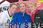 Rally girls: Jennifer O'Connor (15), Castleisland, Katie Quinn (17), Lyreacrompane and Tina Quinn (16), Lyreacrompane - The girls were all racing at last Sunday's Hot Rod Race in Lyreacrompane.   Copyright Kerry's Eye 2008