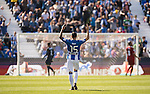 Diego Rico of Deportivo Leganes reacts during their La Liga match between Deportivo Leganes and Sevilla FC at the Butarque Municipal Stadium on 15 October 2016 in Madrid, Spain. Photo by Diego Gonzalez Souto / Power Sport Images