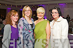 Pictured at the Fashion Show in the Kenmare Bay Hotel on Saturday, from left: Helen O'Neill, Liz Carson, Claire Randles and Aine Kelliher, all from Kilgarvan.