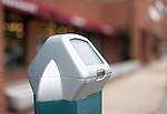Solar powered parking meters - Mt. Lebanon Pa.