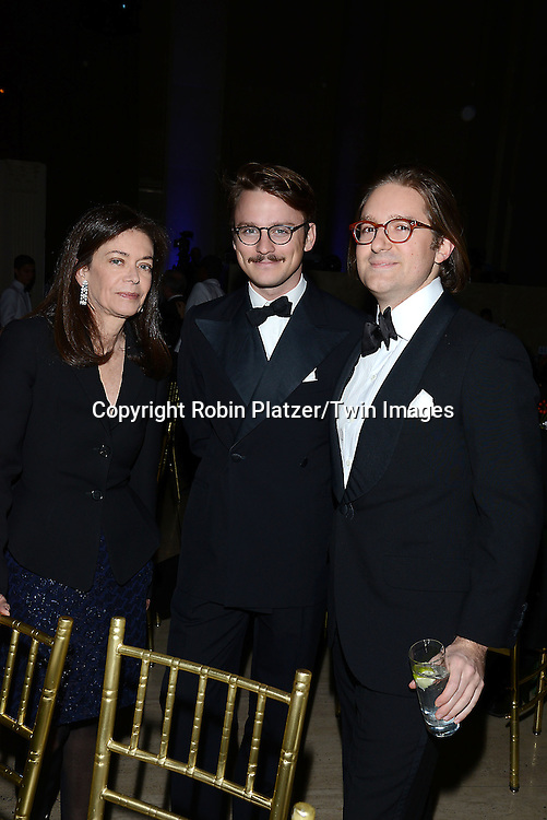 Shelly Wanger and guests  attends the 65th Annual National Book Awards on November 19, 2014 at Cipriani Wall Street in New York City. <br /> <br /> photo by Robin Platzer/Twin Images<br />  <br /> phone number 212-935-0770