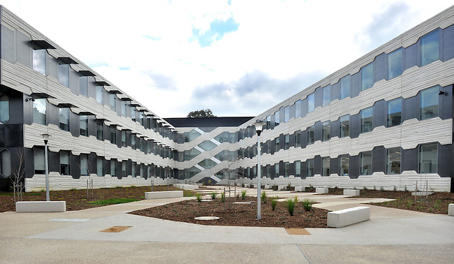 Fairview Architectural Buildings at the Australian National University, Canberra, Tuesday 27th June 2012. Photo: Mark Graham