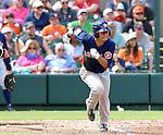 Norichika Aoki (Astros),<br /> FEBRUARY 25, 2017 - MLB : Norichika Aoki of the Houston Astros during a spring training baseball game in Lakeland, Florida, United States.<br /> (Photo by AFLO)