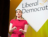 Lib Dem Spring Conference day 1 <br /> at the Echo Arena / BT Convention centre in Liverpool, Great Britain <br /> 14th March 2015 <br /> <br /> Jo Swinson MP<br /> keynote speech <br /> <br /> Photograph by Elliott Franks <br /> Image licensed to Elliott Franks Photography Services