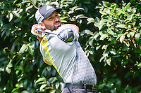 Sergio Garcia (ESP) watches his tee shot on 2 during round 4 of the World Golf Championships, Mexico, Club De Golf Chapultepec, Mexico City, Mexico. 3/5/2017.<br /> Picture: Golffile | Ken Murray<br /> <br /> <br /> All photo usage must carry mandatory copyright credit (&copy; Golffile | Ken Murray)