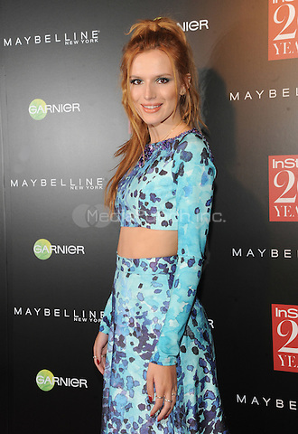 New York, NY-September 8: Bella Thorne attends Instyle 20th Anniversary Party on September 8, 2014 at Diamond Horseshoe at the Paramount Hotel in New York City.  Credit: John Palmer/MediaPunch