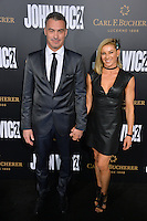 Chad Stahelski &amp; Guest at the premiere of &quot;John Wick Chapter Two&quot; at the Arclight Theatre, Hollywood. <br /> Los Angeles, USA 30th January  2017<br /> Picture: Paul Smith/Featureflash/SilverHub 0208 004 5359 sales@silverhubmedia.com