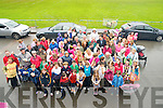 Some of the huge turn out for the Beaufort Pride of Place celebrations at the GAA field on Tuesday. ..................................................................................................