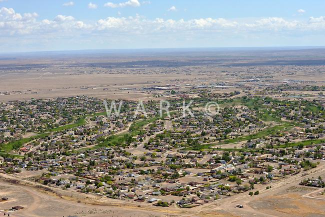 Pueblo West aerial.  June 2013