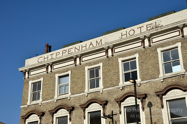 Chippenham Hotel pub, Maida Vale W9, London, UK.