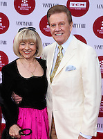 "HOLLYWOOD, LOS ANGELES, CA, USA - APRIL 10: Sandy Ferra, Wink Martindale at the 2014 TCM Classic Film Festival - Opening Night Gala Screening of ""Oklahoma!"" held at TCL Chinese Theatre on April 10, 2014 in Hollywood, Los Angeles, California, United States. (Photo by David Acosta/Celebrity Monitor)"