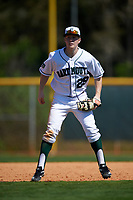 Dartmouth Big Green third baseman Steffen Torgersen (29) during a game against the Iowa Hawkeyes on February 27, 2016 at South Charlotte Regional Park in Punta Gorda, Florida.  Iowa defeated Dartmouth 4-1.  (Mike Janes/Four Seam Images)