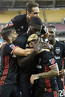 Washington, D.C. - Saturday August 26, 2017: D.C. United defeated the New England Revolution 1-0 in a MLS match at RFK Stadium.