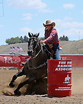Trula Churchill, Cody PRCA rodeo, 7/1 slack. Photo by Andy Watson. All Photos (C) Watson Rodeo Photos, INC. Any use must have written Permission.