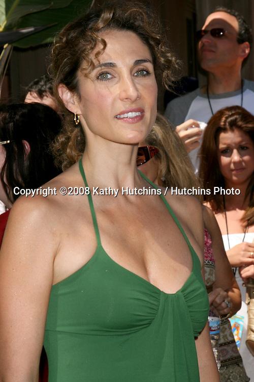 "Melina Kanakaredes.""The Simpson's Ride"" Grand Opening.Universal Studios Theme Park.Los Angeles, CA.May 17, 2008.©2008 Kathy Hutchins / Hutchins Photo ."