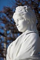 Europe/Autriche/Niederösterreich/Vienne: Monument à la mémoire de l' Impératrice Elisabeth dans le Wolksgarten dans le quartier de  la Hofburg