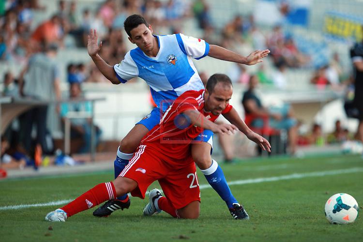 CE Sabadell FC vs Sel. Andorra 'B': 3-0.<br /> Payan vs Sebas.
