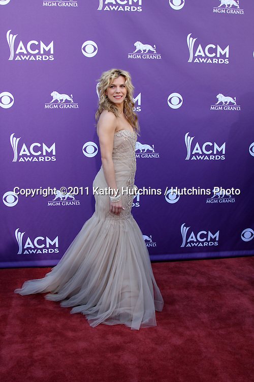 LAS VEGAS - APR 1:  Kimberly Perry arrives at the 2012 Academy of Country Music Awards at MGM Grand Garden Arena on April 1, 2010 in Las Vegas, NV.