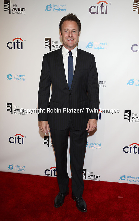 "Chris Harrison , winner for Special Achievement for ""Burning Love"" attends the 17th Annual Webby Awards on May 21, 2013 at Cipriani Wall Street in New York City."