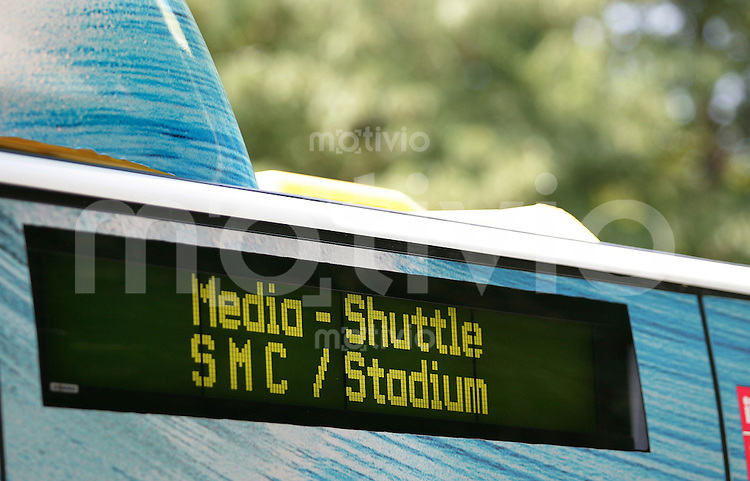 Fussball WM 2006 Finale, 24 Stunden Finale  Italien - Frankreich Media Shuttle