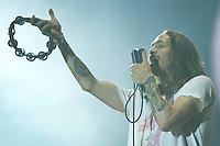 MADRI, ESPANHA, 07 DE JULHO 2012 - ROCK IN RIO MADRI - A banda Incubus durante apresentacao no Rock In Rio Madri, na noite de ontem sabado, 07. (FOTO: ALFAQUI / BRAZIL PHOTO PRESS).
