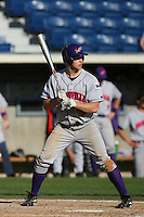 March 6 2009: Alex Acheson of the Evansville Purple Aces in action against the Pepperdine Waves at Eddy D. Field Stadium in Malibu,CA.  Photo by Larry Goren/Four Seam Images