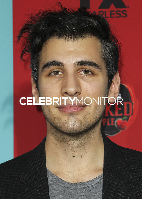 HOLLYWOOD, LOS ANGELES, CA, USA - OCTOBER 05: Nick Simmons arrives at the Los Angeles Premiere Screening Of FX's 'American Horror Story: Freak Show' held at the TCL Chinese Theatre on October 5, 2014 in Hollywood, Los Angeles, California, United States. (Photo by Celebrity Monitor)