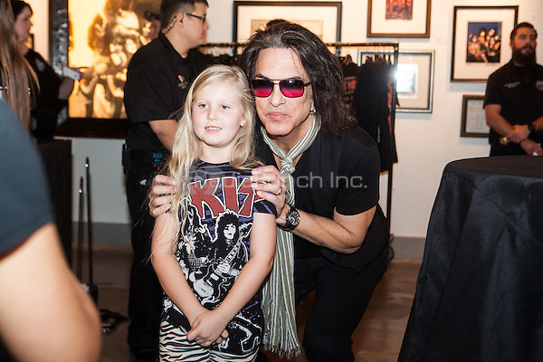 LAS VEGAS, NV - November 8: Paul Stanley Signs his book 'Face The Music: A life Exposed' at Hard Rock Hotel & Casino in Las vegas, NV on November 8, 2014.  RTNEK Photography / MediaPunch