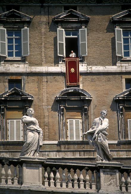 Pope John Paul II speaking, Vatican City, Rome, Italy, Europe
