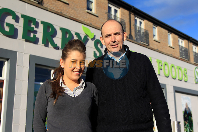 Sarah Murray (Manager) &amp; Gerry Fagan (Prop) at Gerry's Fresh Foods in Bryanstown on Friday 14th November 2014.<br /> Picture:  Thos Caffrey / www.newsfile.ie