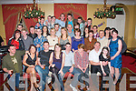 Chris O'Malley, Annascaul (seated 4th Rt) celebrated his 21st birthday last Saturday night in the Imperial hotel,Tralee with many friends and family.
