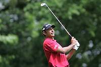 Jyoti Randhawa on the 2nd hole in the final round at the Wentworth Club, Surrey, England - 25th May 2008 (Photo by Manus O'Reilly/GOLFFILE)