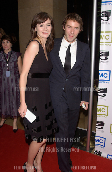 Nov 12, 2004; Beverly Hills, CA: Actress EMILY MORTIMER & husband actor ALESSANDRO NIVOLA at the 19th Annual American Cinematheque Award Gala honoring Steve Martin at the Beverly Hilton Hotel, Beverly Hills, CA.
