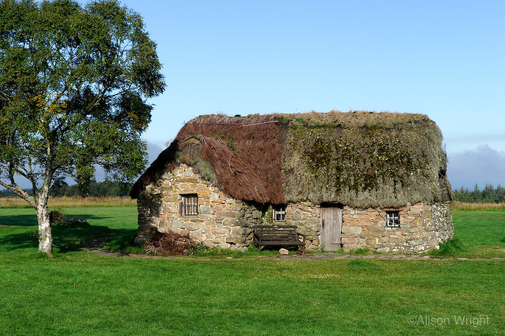 Culloden Battlefield, old medical hut