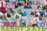 David Shaw Kerry in action against  Galway in the All Ireland Minor Football Final in Croke Park on Sunday.