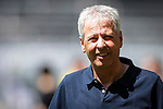 Lucien Favre (Trainer Borussia Dortmund); 1. Fussball-Bundesliga; Borussia Dortmund - TSG Hoffenheim am 27.06.2020 im Signal-Iduna-Park in Dormund (Nordrhein-Westfalen). <br /> <br /> FOTO: BEAUTIFUL SPORTS/WUNDERL/POOL/PIX-Sportfotos<br /> <br /> DFL REGULATIONS PROHIBIT ANY USE OF PHOTOGRAPHS AS IMAGE SEQUENCES AND/OR QUASI-VIDEO. <br /> <br /> EDITORIAL USE OLNY.<br /> National and<br /> international NewsAgencies OUT.<br /> <br /> <br /> <br /> Foto © PIX-Sportfotos *** Foto ist honorarpflichtig! *** Auf Anfrage in hoeherer Qualitaet/Aufloesung. Belegexemplar erbeten. Veroeffentlichung ausschliesslich fuer journalistisch-publizistische Zwecke. For editorial use only. DFL regulations prohibit any use of photographs as image sequences and/or quasi-video.