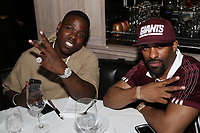 NEW YORK, NY - APRIL 27: Casanova and DJ Clue at the after party for the 2017 Tribeca Film Festival Screening of Can't Stop, Won't Stop: The Bad Boy Story at The Hunt & Fish Club in New York City on April 27, 2017. Credit: Walik Goshorn/MediaPunch
