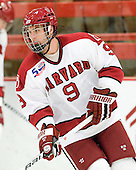 Danny Biega (Harvard - 9) - Sweden's Under-20 team defeated the Harvard University Crimson 2-1 on Monday, November 1, 2010, at Bright Hockey Center in Cambridge, Massachusetts.