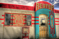 Redtop Diner - Route 66 - New Mexico. Valentine Diner