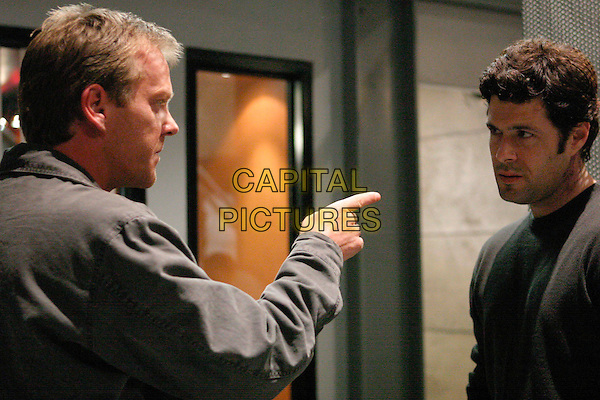 "KIEFER SUTHERLAND & CARLOS BERNARD.in 24.""7:00am-8:00am"".keifer.*Editorial Use Only*.www.capitalpictures.com.sales@capitalpictures.com.Supplied by Capital Pictures."