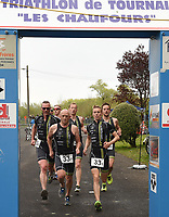 BK PLOEGENTRIATHLON IN DOORNIK :<br /> Ploeg Aarschot Triathlon Team<br /> met Steven Vuylsteke - Maarten Vermeulen - Bart Lauwers - Michiel Cops - David Briers - Stijn Vanderhoeft - Johan Debent<br /> PHOTO SPORTPIX.BE / DIRK VUYLSTEKE