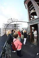 Besuchergruppe auf dem Glockenturm im Residenzschloss