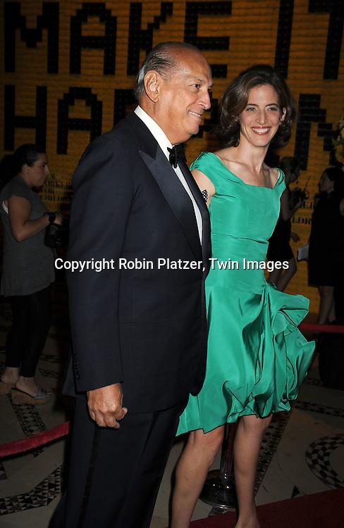 Oscar de la Renta and stepdaughter Eliza Bolen