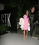 .April 5th 2012...Tila Tequila and boyfriend David Weintraub dine at STK restaurant in West Hollywood, CA...AbilityFilms@yahoo.com.805-427-3519.www.AbilityFilms.com..