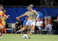 Florida International University women's soccer player Marie Egan (13) plays against the University of Florida on August 21, 2011 at Miami, Florida. Florida won the game 2-0. .